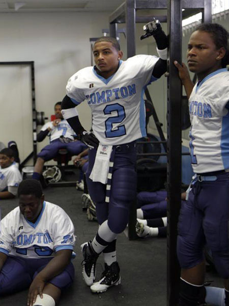 Kitam Hamm is using football to get out of gang-infested Compton