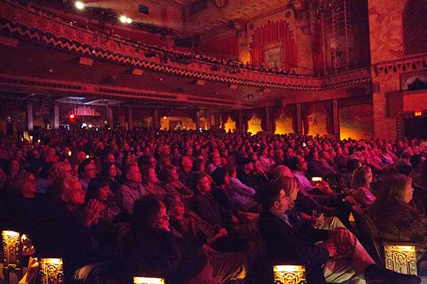 (A full house at the Garde for David Crosby. Photo by Donald Wilson.)
